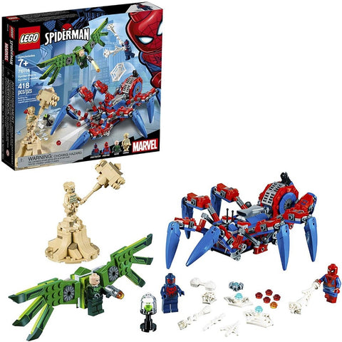 A ARANHA TREPADORA DE SPIDER-MAN - 76114 - LEGO - playnjoy.shop