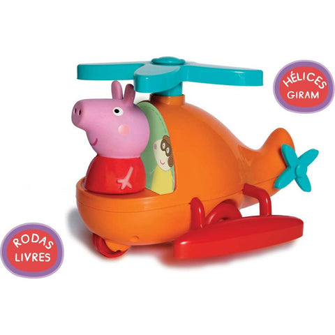 Bebe Peppa Pig Helicoptero - ELKA - playnjoy.shop