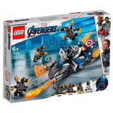 CAPTAIN AMERICA: ATAQUE DE OUTRIDERS - 76123 - LEGO - playnjoy.shop