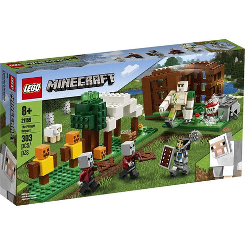 LEGO MINECRAFT THE PILLAGER OUTPOST - 21159 - LEGO - playnjoy.shop