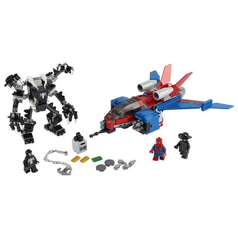 Spiderjet Vs. Robo Venom - 76150- Lego - playnjoy.shop