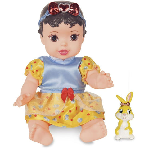 Boneca Branca de Neve Com Pet e Mamadeira - playnjoy.shop