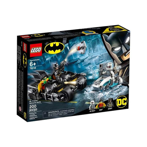 COMBATE DE BAT-MOTO DE MR. FREEZE - 76118 - LEGO