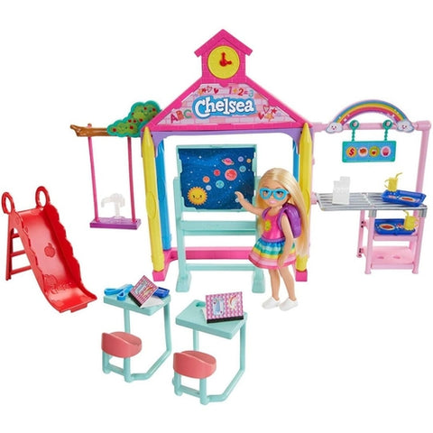 Barbie Family Chelsea Escola Ghv80 - Mattel