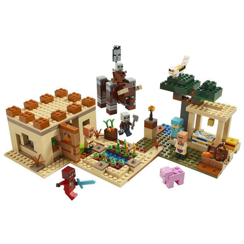 O ATAQUE DE ILLAGER - 21160 - LEGO - playnjoy.shop