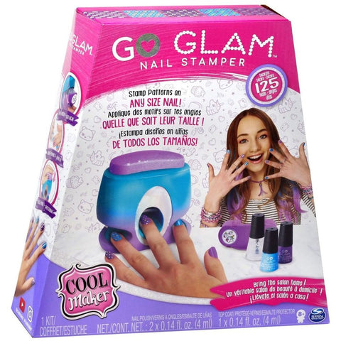 Conjunto para Pintura de Unhas - Go Glam - Printer Value - Sunny - playnjoy.shop