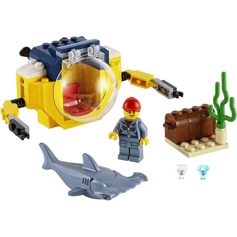 Mini-Submarino Oceanico - 60263 - LEGO