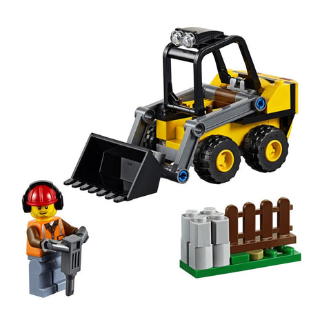 Trator Carregador da Construcao Lego 60219 - playnjoy.shop