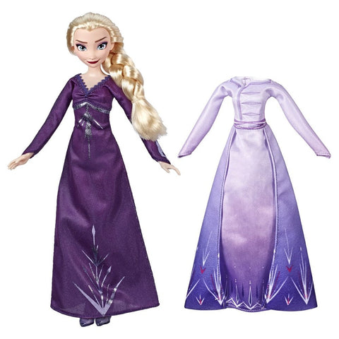 Boneca Frozen 2 Doll And Fashion / E5500 - Hasbro - playnjoy.shop