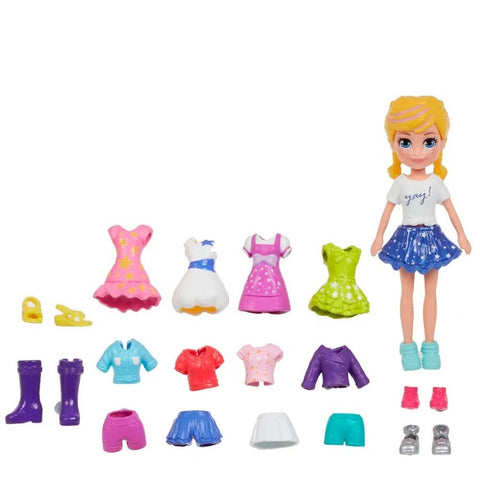 Polly Pocket Pronta Para A Festa - Gft97 - Mattel