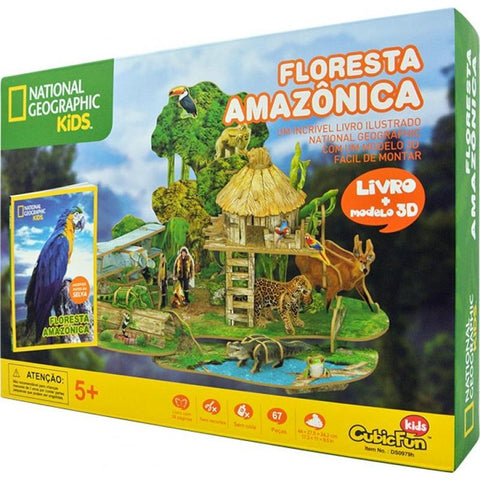 Floresta Amazonica: National Geographic Kids - Cubicfun