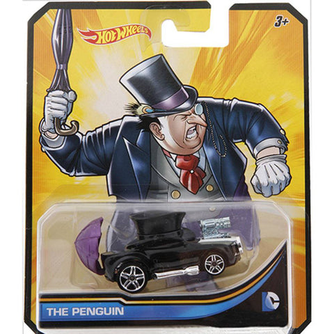 Dc Carros de HotWheels com  Personagem Sort - Hot Wheels - playnjoy.shop