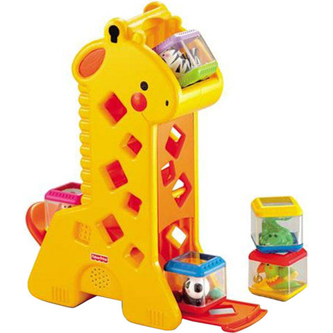 Girafa com blocos Fisher-Price - B4253 - playnjoy.shop