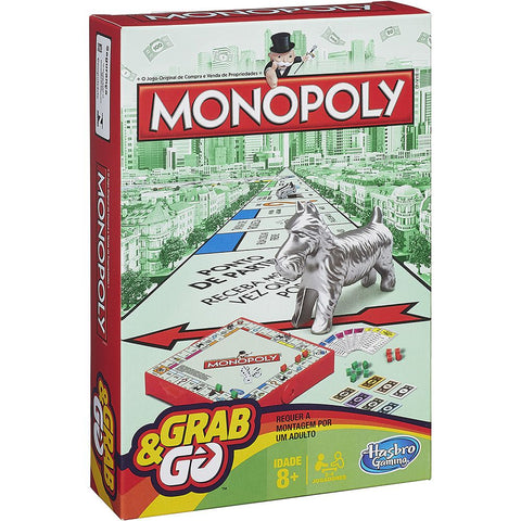 Grab & Go Monopoly B1002 - Hasbro - playnjoy.shop