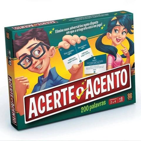 Acerte o Acento - Grow - playnjoy.shop