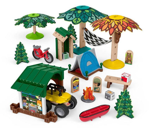 Wonder Makers Acampamento De Aventuras - GFJ10  Fisher Price - playnjoy.shop