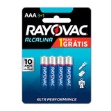PILHA AAA LEVE 4 PAGUE 3 BL.C/04 20324 - RAYOVAC - playnjoy.shop