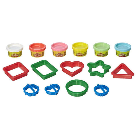Play-Doh Formas Variadas - E8534 - Hasbro - playnjoy.shop