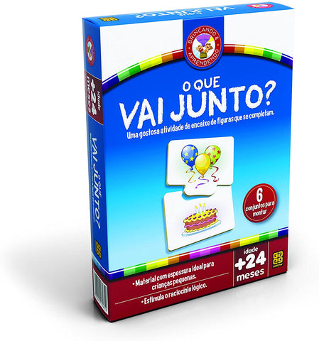 O Que Vai Junto - Grow - playnjoy.shop