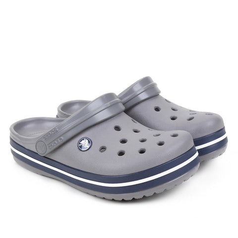 Calcado Crocband Kids Smoke/ Navy C4c5