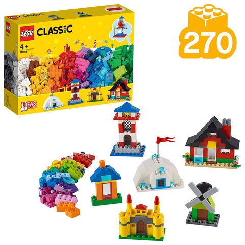 Blocos e casas Lego Classic 11008 - playnjoy.shop