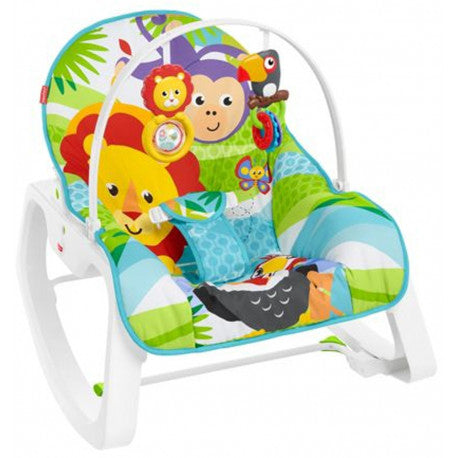 Cadeira Macaquinho e Leao Fisher-Price GDP94 - playnjoy.shop