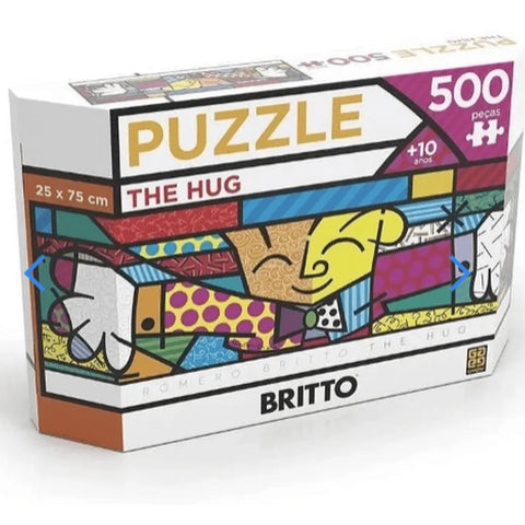 P500 Panorama Romero Britto - The Hug - Grow