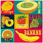Quebra-cabeça 300 X 4 Decorart - Pop Art Fruits - 03631