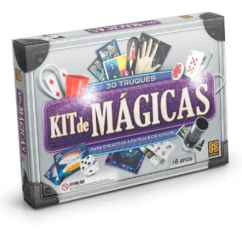 Kit de Mágicas 30 Truques - Grow