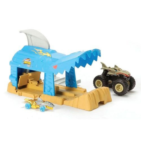 Hot Wheels Pista E Monster Trucks Lancad. Radi - Gky01 - Mattel - playnjoy.shop
