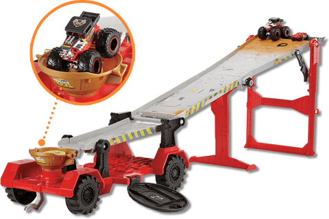 Hot Wheels Monster Trucks Reboque Radical Gfr15 - playnjoy.shop
