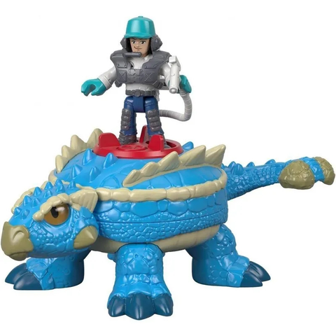 Jurassic World - Imaginext  Fig C/ Acessorios Sort - Fmx88 - Mattel