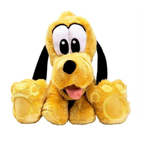 Pelucia Pluto Big Feet 30cm - F00223 - Disney - playnjoy.shop