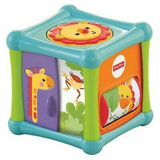 Fisher-Price Cubo Animaizinhos Divertidos - Bfh80 - Mattel