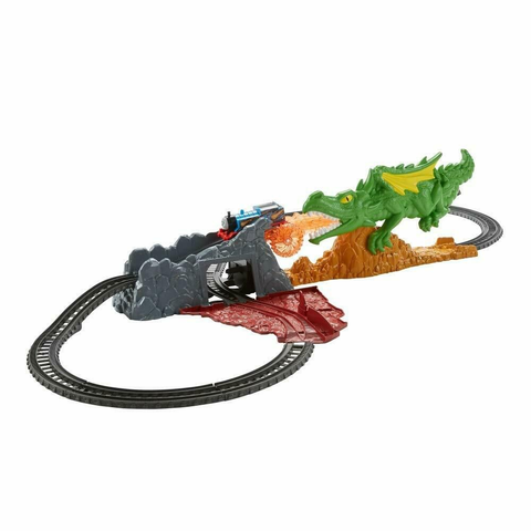Thomas e Seua Amigos - Salto do Dragao - FXX66 - MATTEL - playnjoy.shop