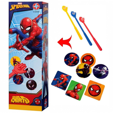 Tapa Certo Spiderman - Estrela - playnjoy.shop