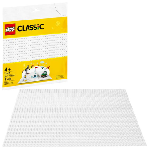 Base de Construcao Branca - Lego 11010 - playnjoy.shop