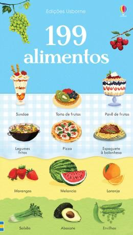 199 Alimentos - Usborne - playnjoy.shop
