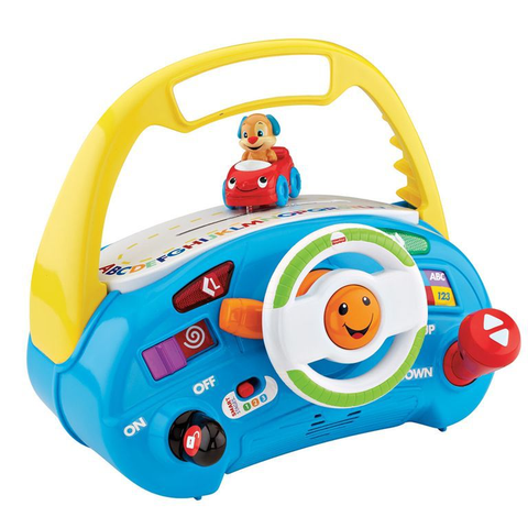 Pilotando Com o Cachorro DLH38 - FISHER-PRICE - playnjoy.shop