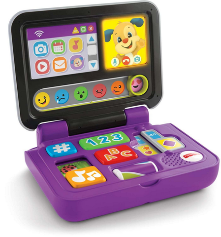 Laptop Clicar e Aprender - FXK24 - FISHER-PRICE - playnjoy.shop
