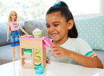 Barbie Noodle Bar Playset Blonde - GHK43 - MATTEL - playnjoy.shop