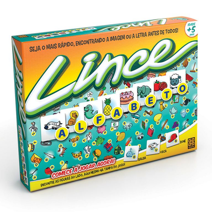 Jogo Lince Alfabeto - Grow - playnjoy.shop