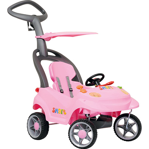 Quadriciclo Smart Baby Rosa Bandeirante - playnjoy.shop
