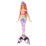 Barbie Fan Sereia Brilhante Sparkle Lights - GFL82 - MATTEL - playnjoy.shop