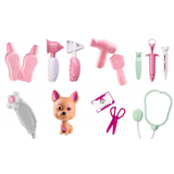 Kit Doutor Canino Maleta Rosa / Azul - ROMA - playnjoy.shop