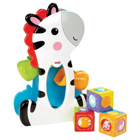Zebra Blocos Surpresa Fisher-Price CGN63 - MATTEL - playnjoy.shop