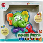Animal Puzzle 3D Elefante - Calesita - playnjoy.shop