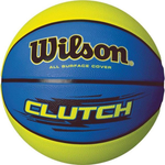 Bola de Basquete Clutch N.7 Azul/Verde - WILSON - playnjoy.shop