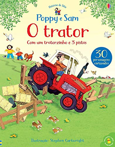 O Trator: Poppy e Sam - Usborne - playnjoy.shop