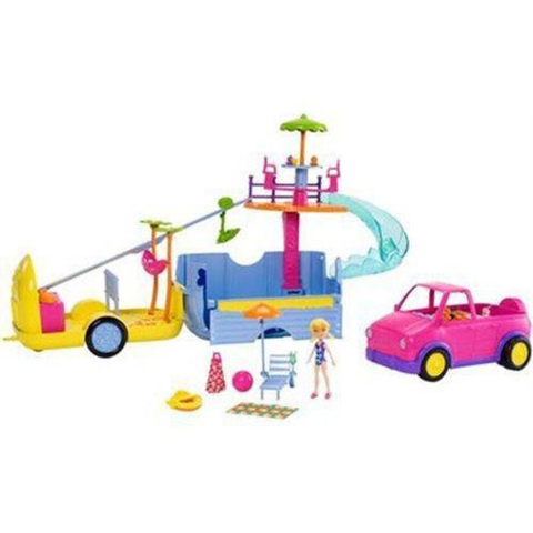Polly Mega Trailer da Polly - FRY86  - Mattel - playnjoy.shop